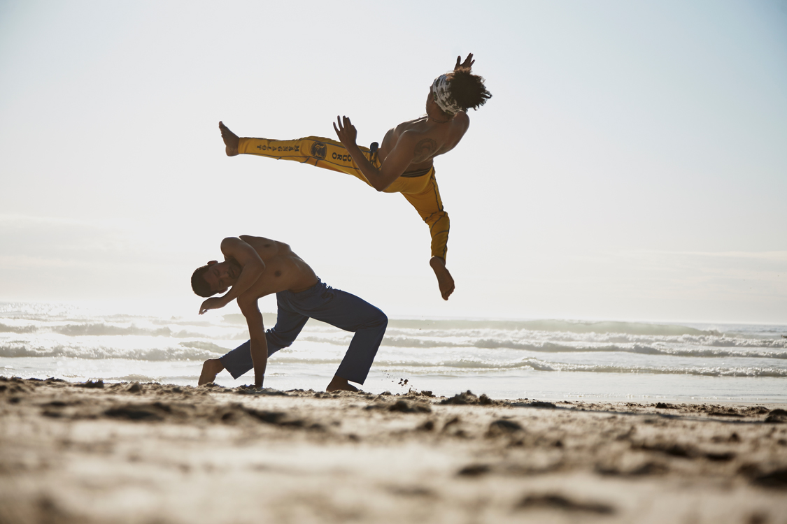 Capoeira at beach